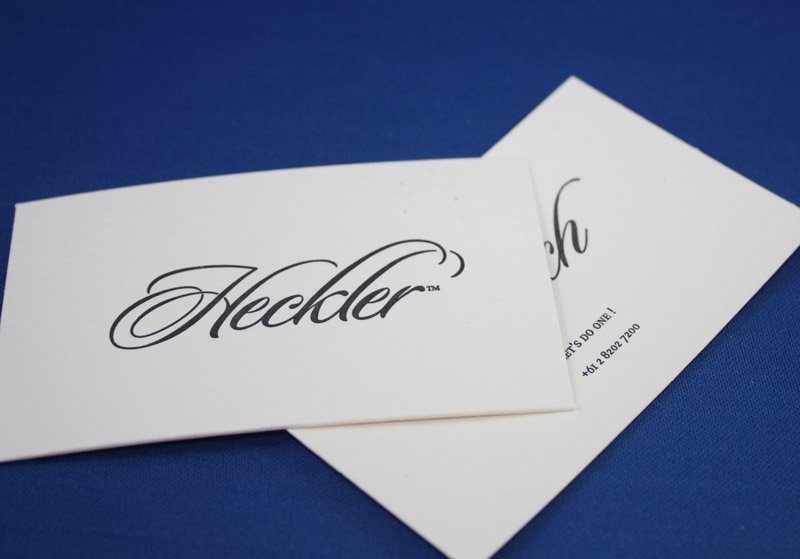 Letterpress printed embossed and foil stamped business cards colourmoves